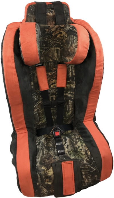 Roosevelt Car Seat Order Form - Hunter Orange Camo Cover